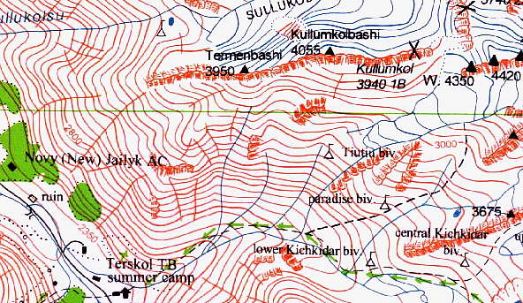 Map Samples EWP Maps - Mt elbrus map