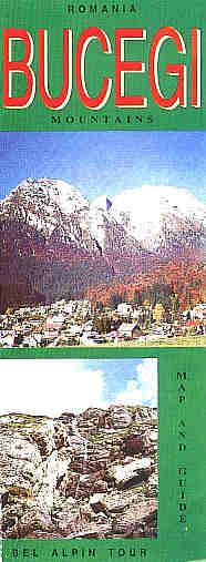 Bucegi Mountains map and guide