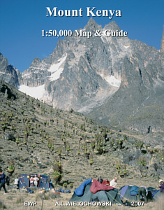 Mount Kenya map