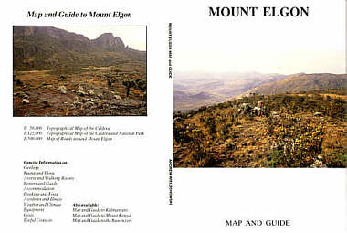 Mount Elgon Map and Guide