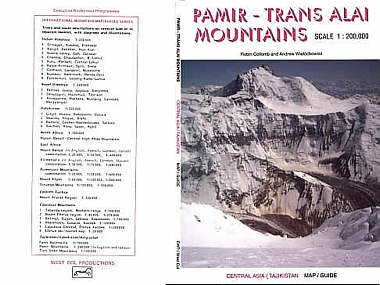 Pamir map and guide