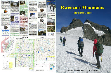 Rwenzori Map and Guide