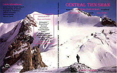 Tien Shan map and guide